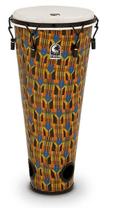 "Toca 12"" Freestyle Mechanically Tuned Ashiko Drum in Kente Finish ( TFA-12MK)"