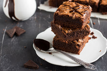 Load image into Gallery viewer, Chocolate Brownies with Jaggery - Eggless