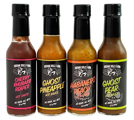 Brown Dogs Farm Hot Sauces