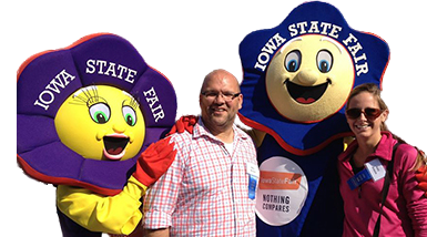 Rory & Amy at the Iowa State Fair