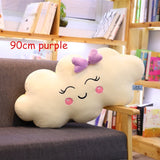 Giant New Style Cloud Pillow Soft stuffed Cushion Lovey Smile Cloud Plush Toy