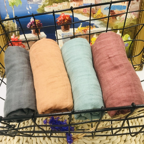 Bamboo Baby Swaddle Blankets Better than Cotton Baby Multi-use Blanket Infant Wrap