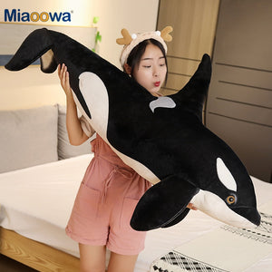Killer Whale Plush Toys Stuffed Orcinus Orca Shark Soft Sleep Pillow