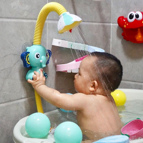 Elephant Water Spray Bath Toys For Kids & Baby Bathroom Bathtub Faucet Shower Children Water Game