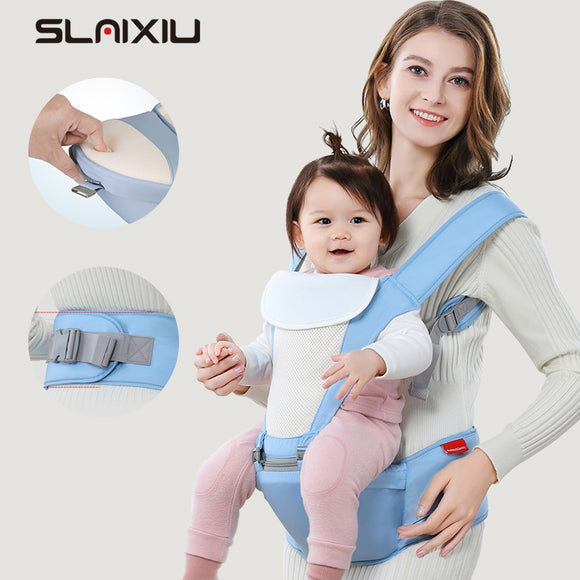 Baby Gear Carrier Waist Sling Belt For Kid/Infant Hip Hold Seat Safe Front & Back Carry Very Breathable