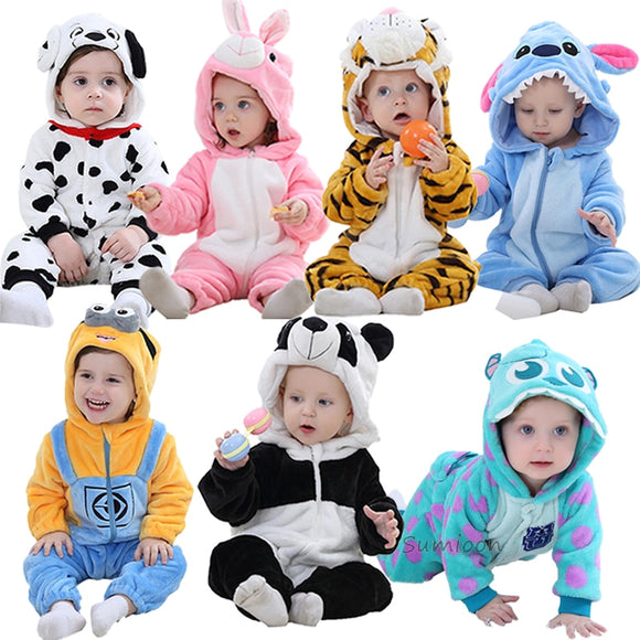 Baby Rompers Boy/Girl Clothes Baby Costume Infant onesies Winter Pajamas