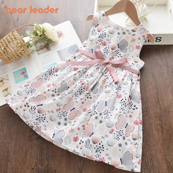 Cute Girl Princess Dresses New Summer Girls Dresses Floral Clothing - Variety
