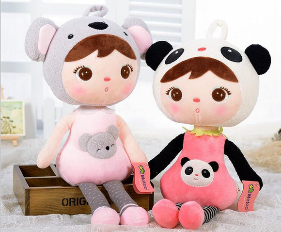 Metoo Doll Plush Sweet Cute Lovely Stuffed Toys for Girls
