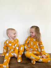 Load image into Gallery viewer, Footed Coverall Sewing Pattern — Footie One-Piece — Preemie to 5T