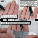AXCEL CONTOUR PRO FINGER TAB
