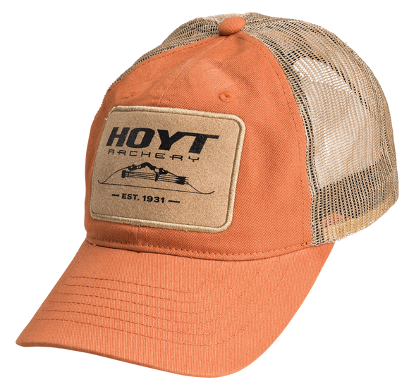 HOYT LEATHER PATCH CAP