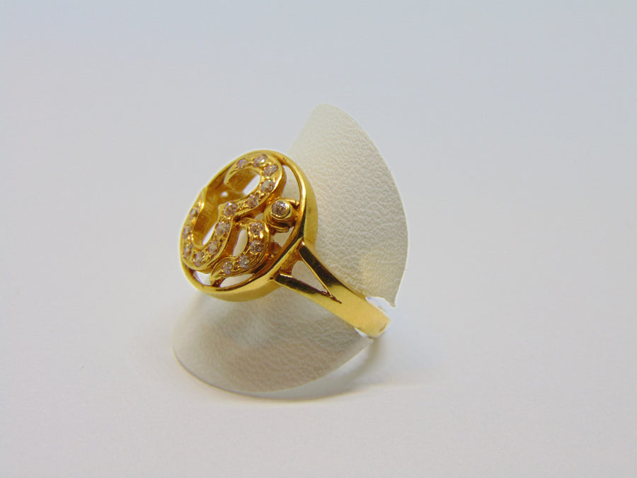 Heren Ohm ring 029