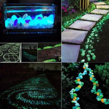 Load image into Gallery viewer, Amazing Glow in the Dark Garden Pebbles