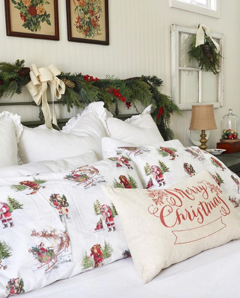 How To Create The Perfect Farmhouse Holiday Bedroom