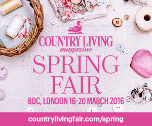 Come and see us at the Country Living Spring Show!