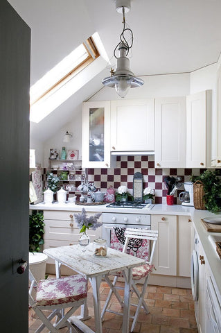 natural light, sustainable interior, interior design, shabby chic kitchen, shabby chic decor