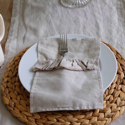 table linen, cutlery holder, easter