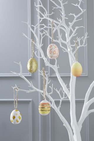 easter tree, easter decor, easter eggs