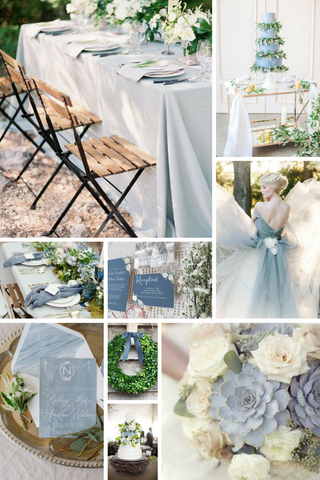 Top 5 Wedding Colour Palettes For Spring 2017