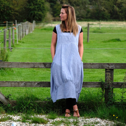 Linen Lagenlook Dress/Linen Tunic