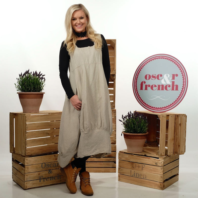 Lagenlook Style Dress. Invented for Layering - Linen