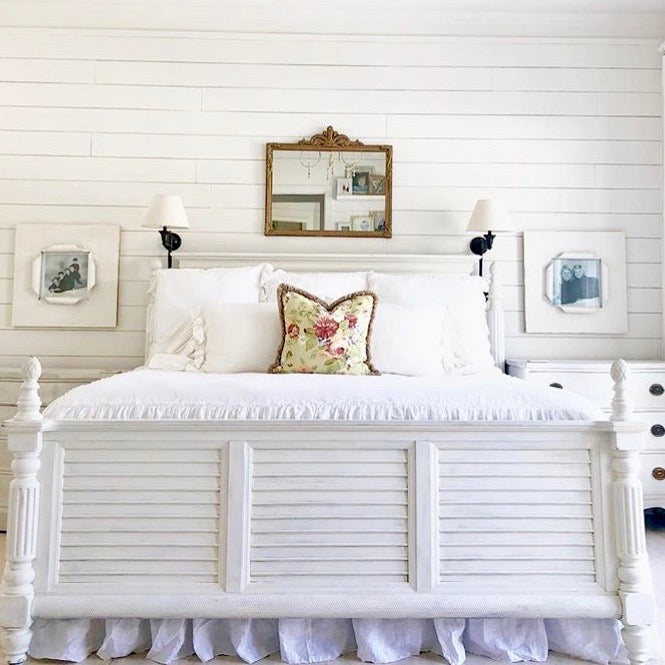 Ruffled Linen Bedding - Romantic Ruffles