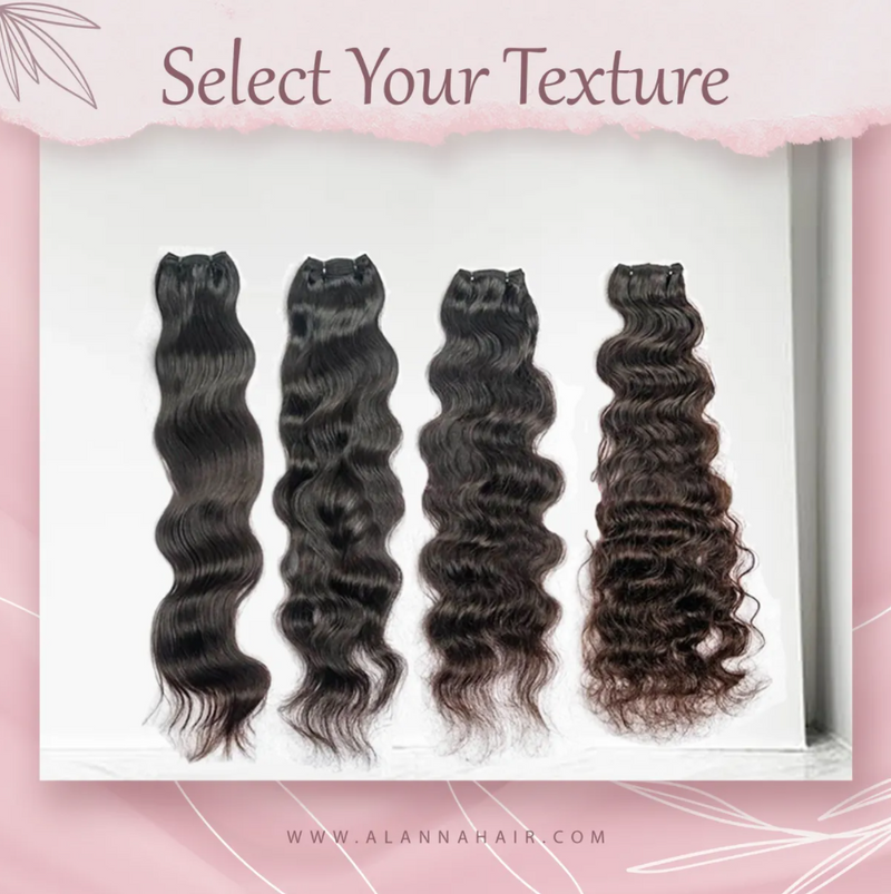 Raw Indian Temple Body Wave Hair Bundles