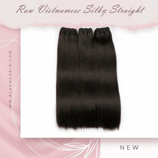 Raw Vietnamese Silky Straight Hair Bundles