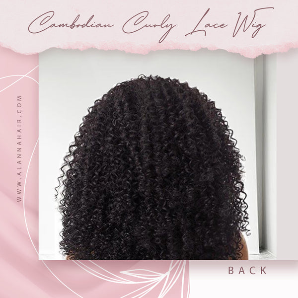 Raw Cambodian Curly Full Lace Wig