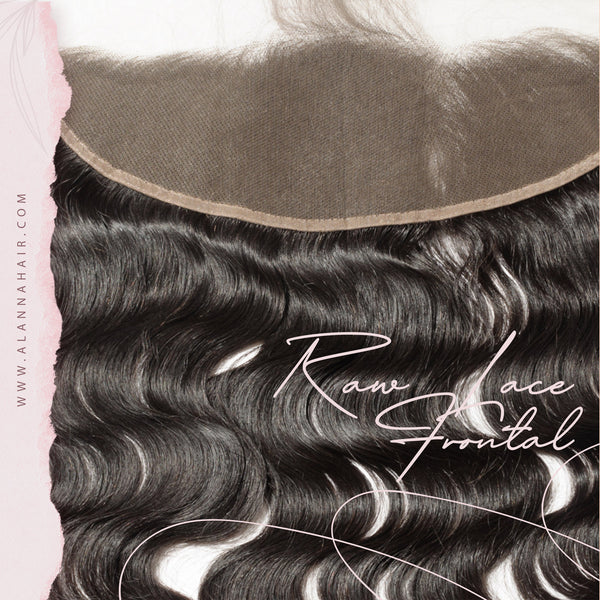 Raw HD Lace Frontals Cambodian Body Wave