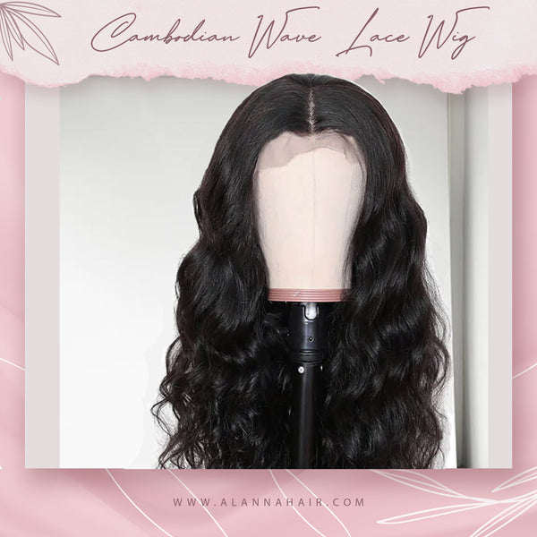 Raw Cambodian Body Wave Lace Wig