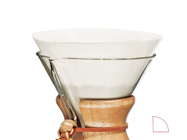 Chemex® Filters 6 cups (100pieces)