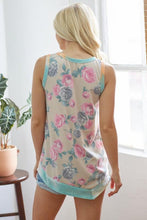 Load image into Gallery viewer, Sand & Floral Tank