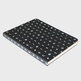 "Black Iro Notebook (7x9"")"