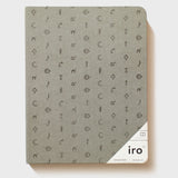 "Grey Iro Notebook (7x9"")"