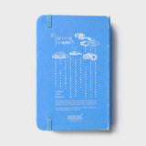 Peacock Blue Rubberband Noteboook