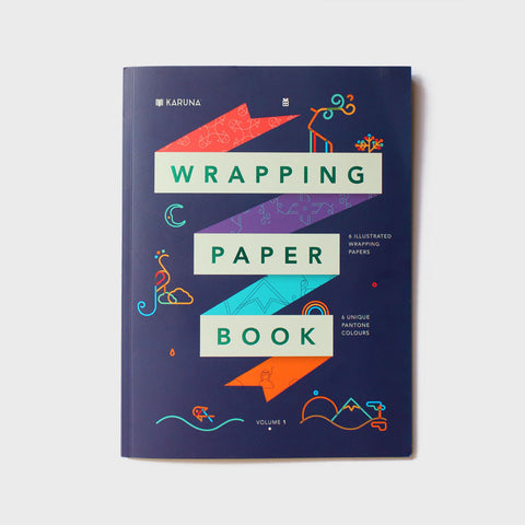 Wrapping Paper Book (Small/6 Sheets)