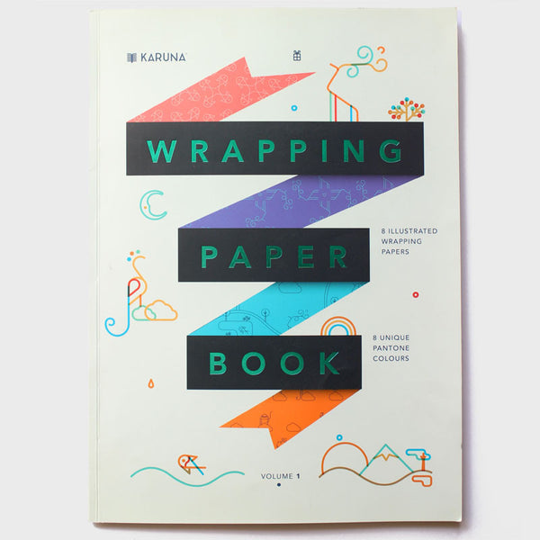 Wrapping Paper Book (Big/8 Sheets)