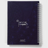 Peacock Purple Wiro Notebook
