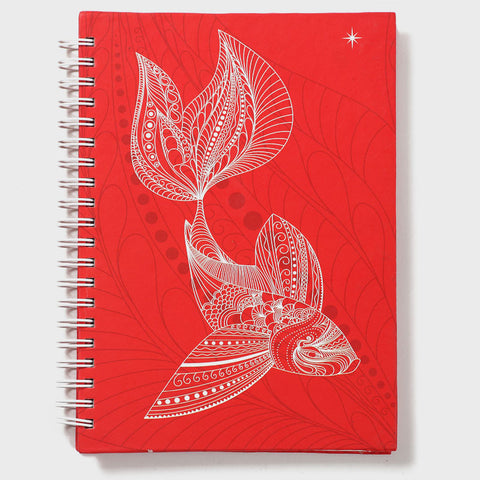 Fish Red Wiro Notebook