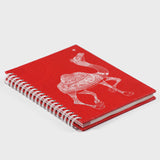 Camel Red Wiro Notebook