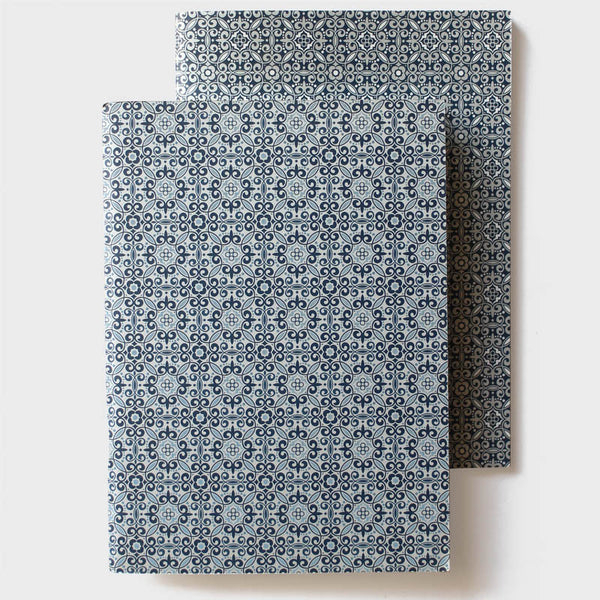 Blue + Silver Pantone Notebook