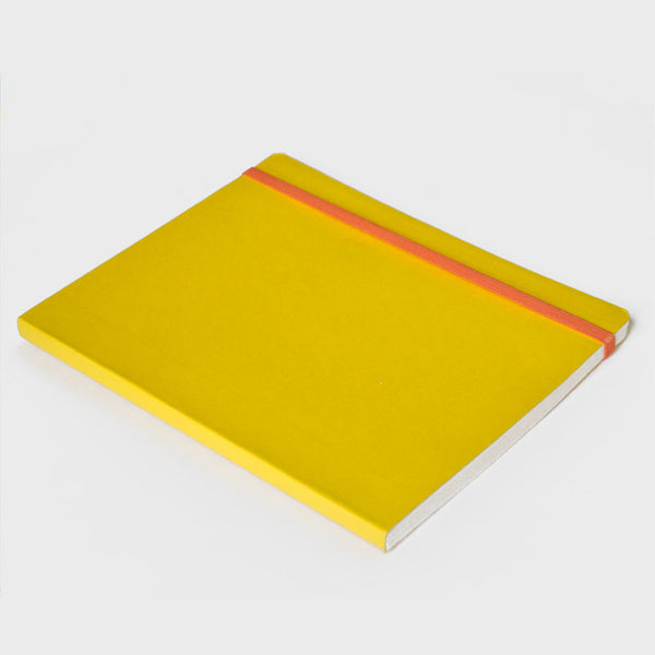 Yellow Rubberband Notebook