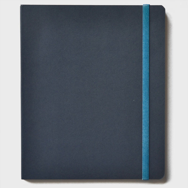 Blue Rubberband Notebook