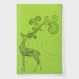 Deer Green Notebook