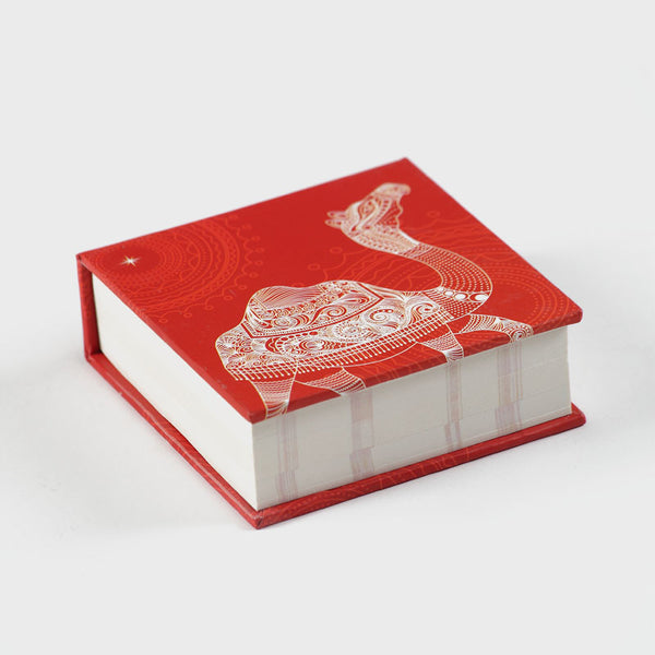 Camel Red Memo Pad
