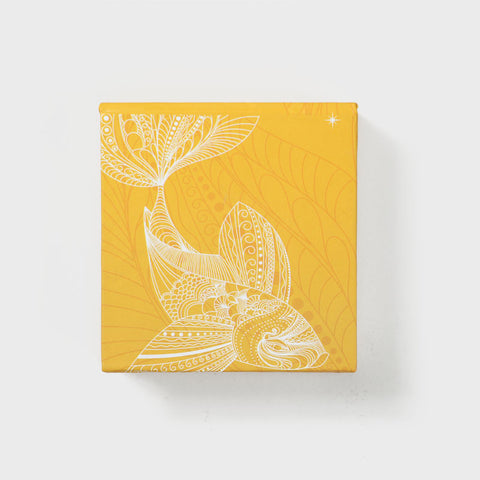 Fish Yellow Memo Pad