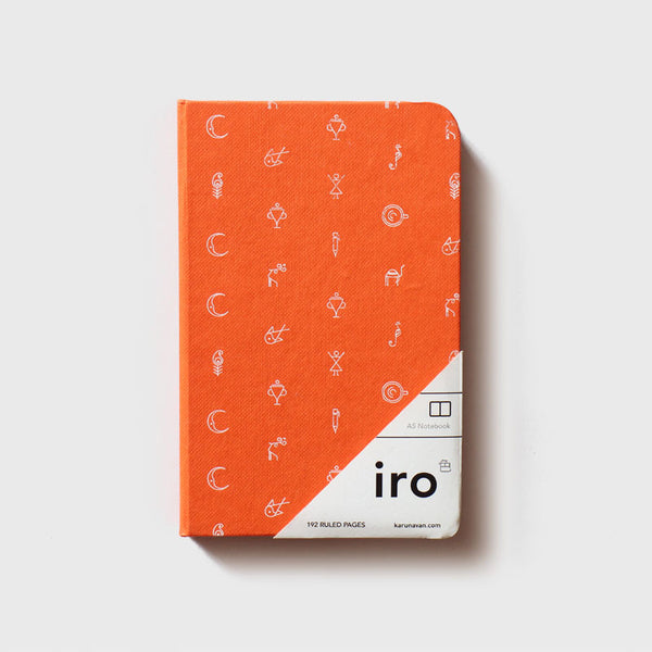 Orange Iro Notebook (A6)