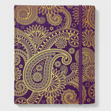 Paisley Purple and Red band