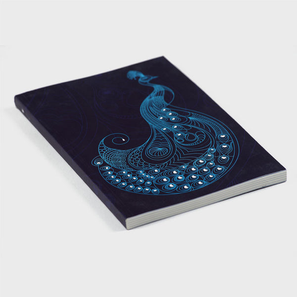Peacock Purple Notebook